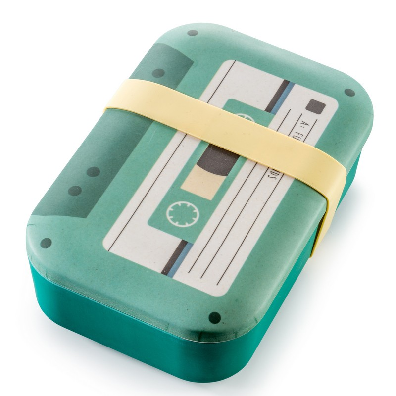 Boîte à repas bambou Cassette
