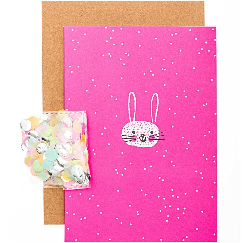 Carte diy Lapin