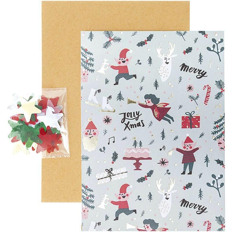 Carte diy Noël