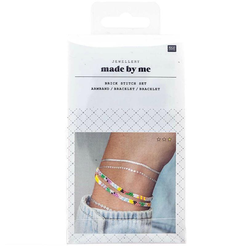 Kit bracelet double à tisser