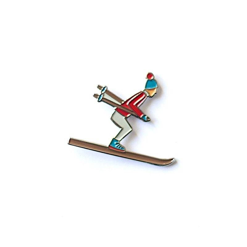 Pin's Skieur