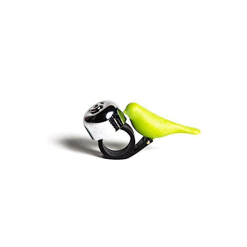 Sonnette pour vélo Oiseau vert