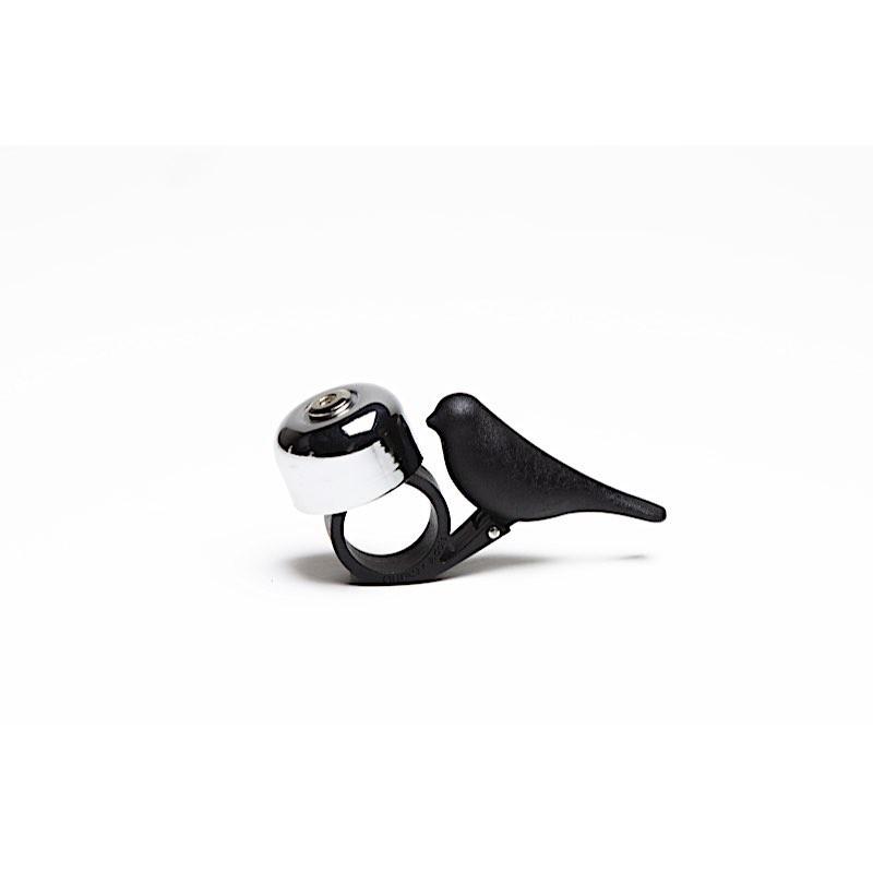 Sonnette pour vélo Oiseau noir