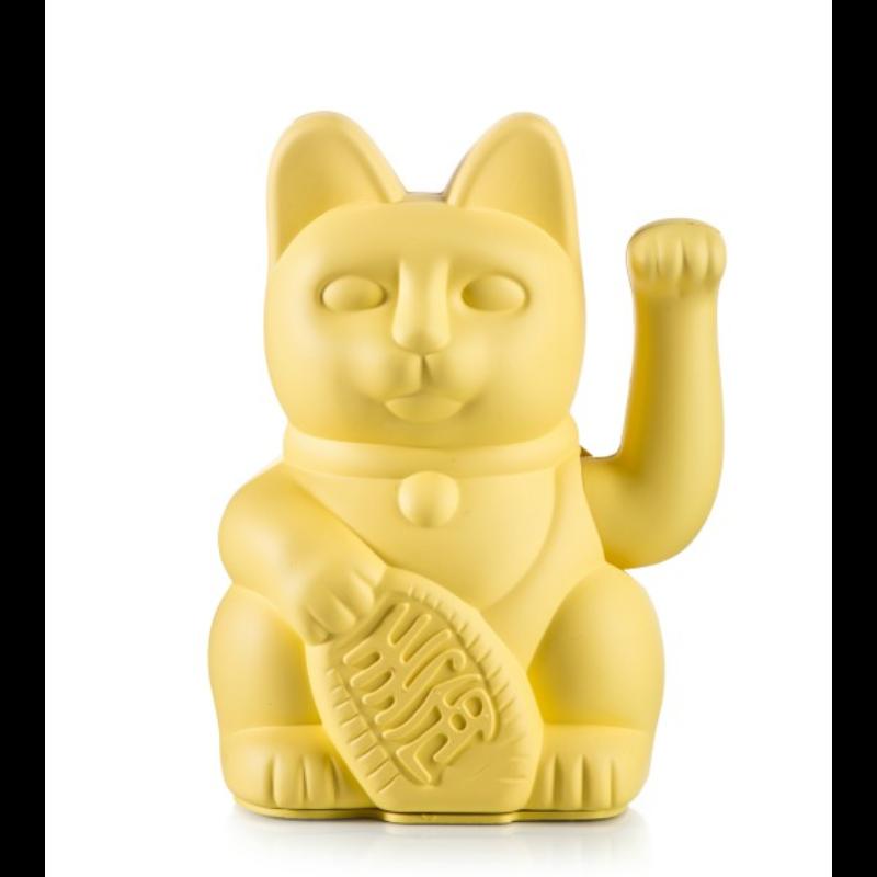 Lucky cat jaune
