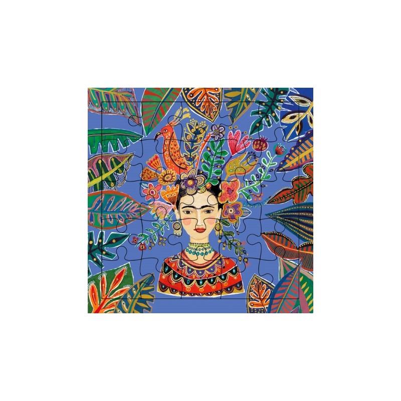 Carte puzzle Frida