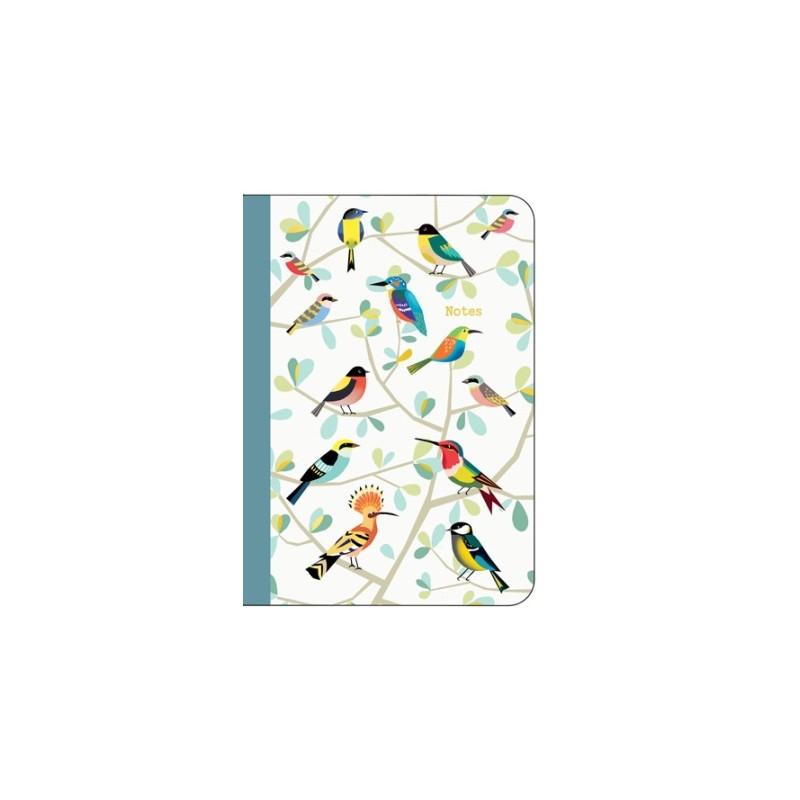 Carnet de notes A6 Oiseaux