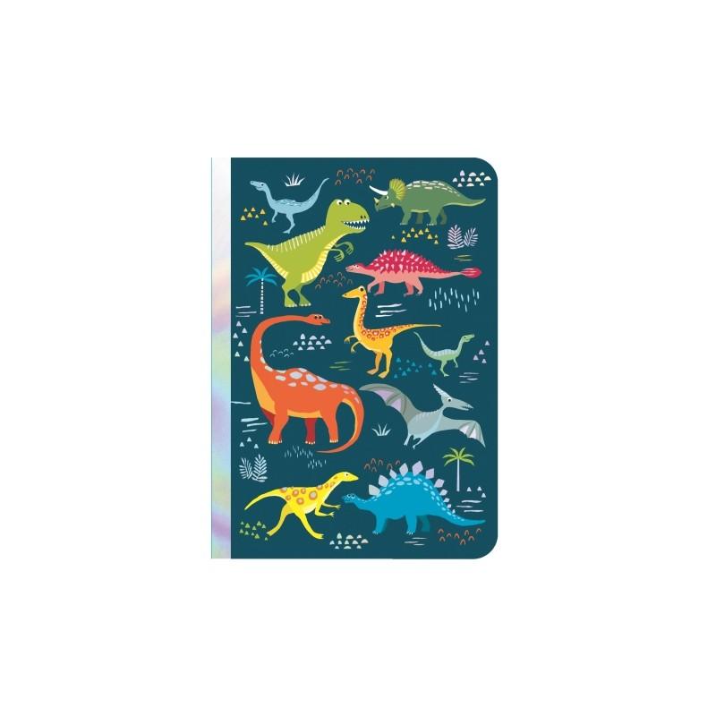 Carnet de notes A6 Dinosaures