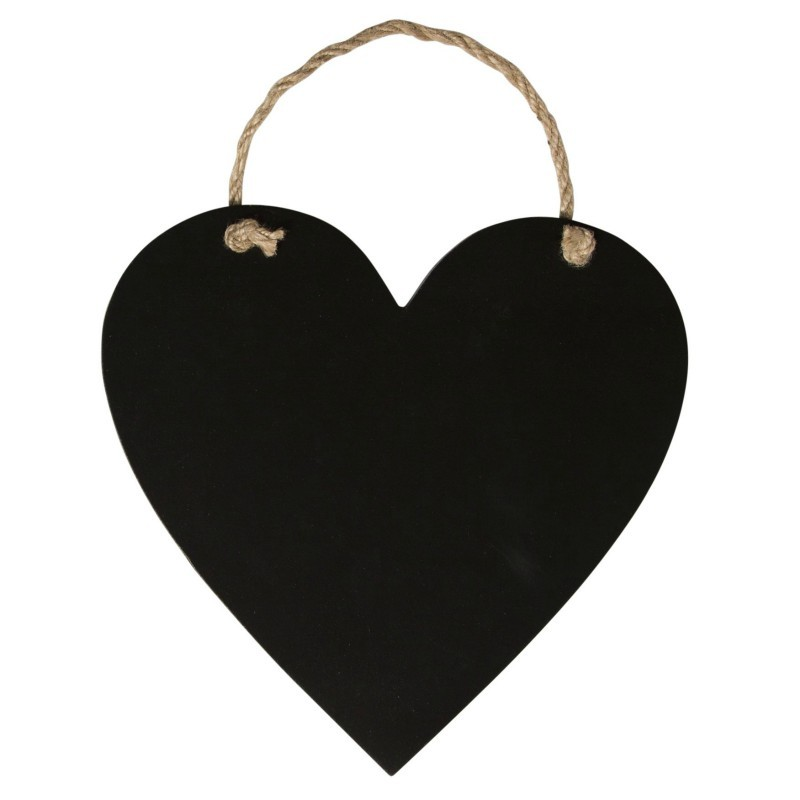 Petit tableau noir Coeur