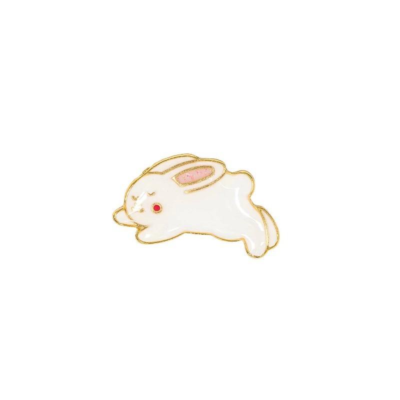 Pin's Lapin sautant