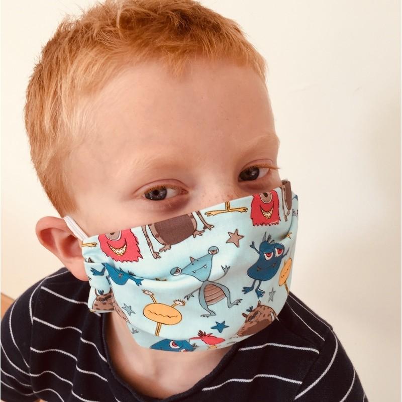 Masque en tissu 4-6 ans -...