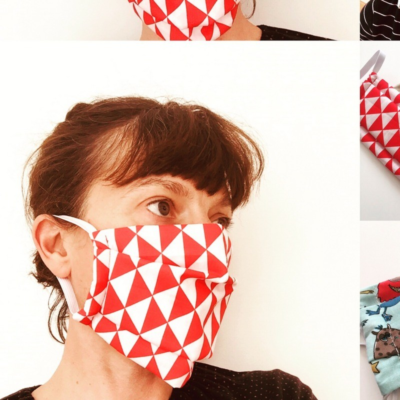Masque en tissu Adulte/plus...