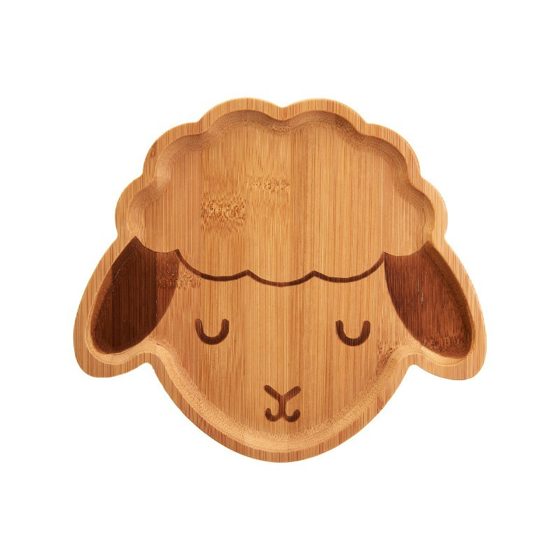 Assiette Mouton en bambou