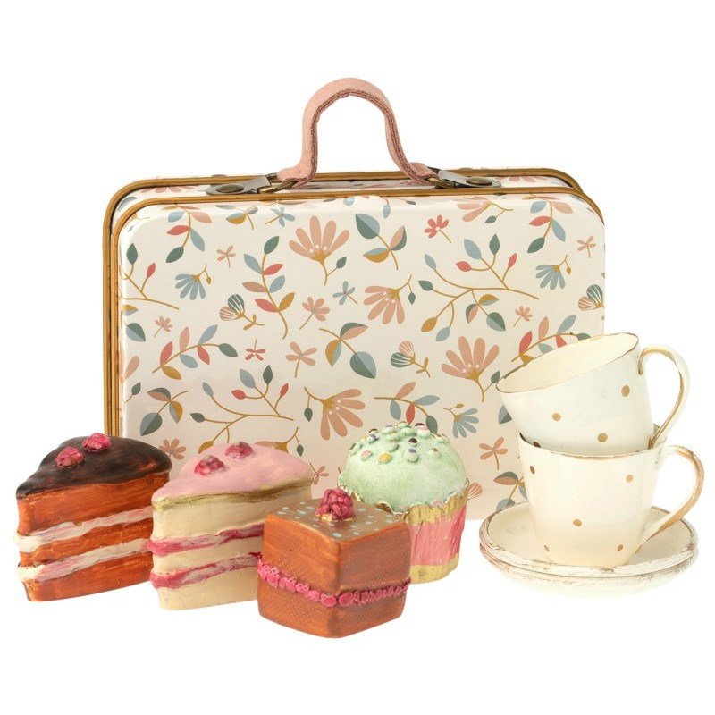 Set Valisette et pâtisseries