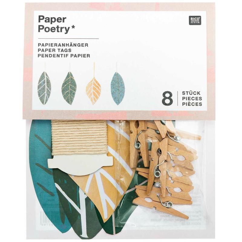 Kit Guirlande Papier feuilles