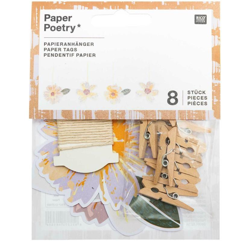 Kit Guirlande Papier Fleurs
