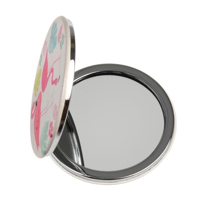 Miroir de poche Flamants roses