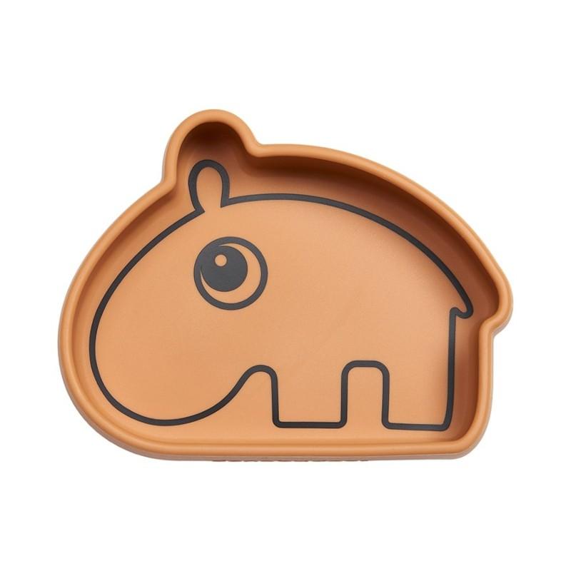 Bol Hippopotame moutarde en...
