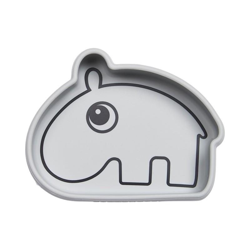 Bol Hippopotame gris en...