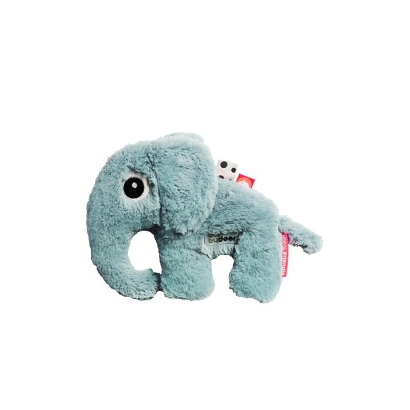 Doudou Elephant bleu