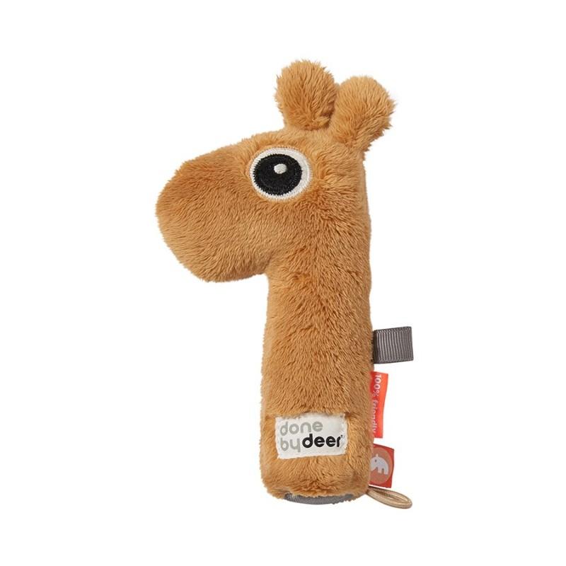 Hochet pouet pouet girafe...