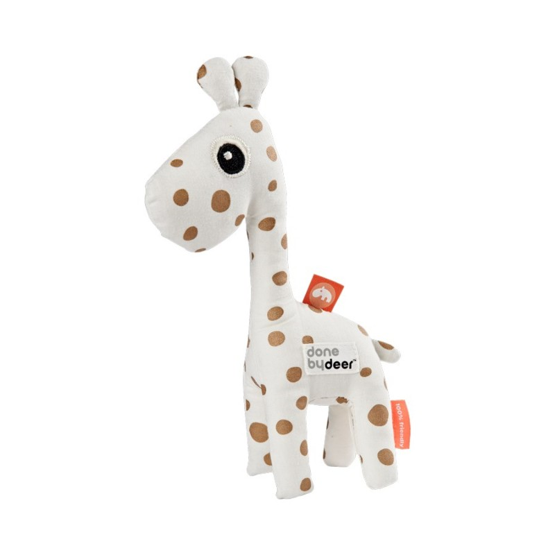 Hochet Girafe pois noirs ou...