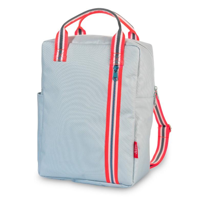 Grand sac à dos Zippé 2.0 gris
