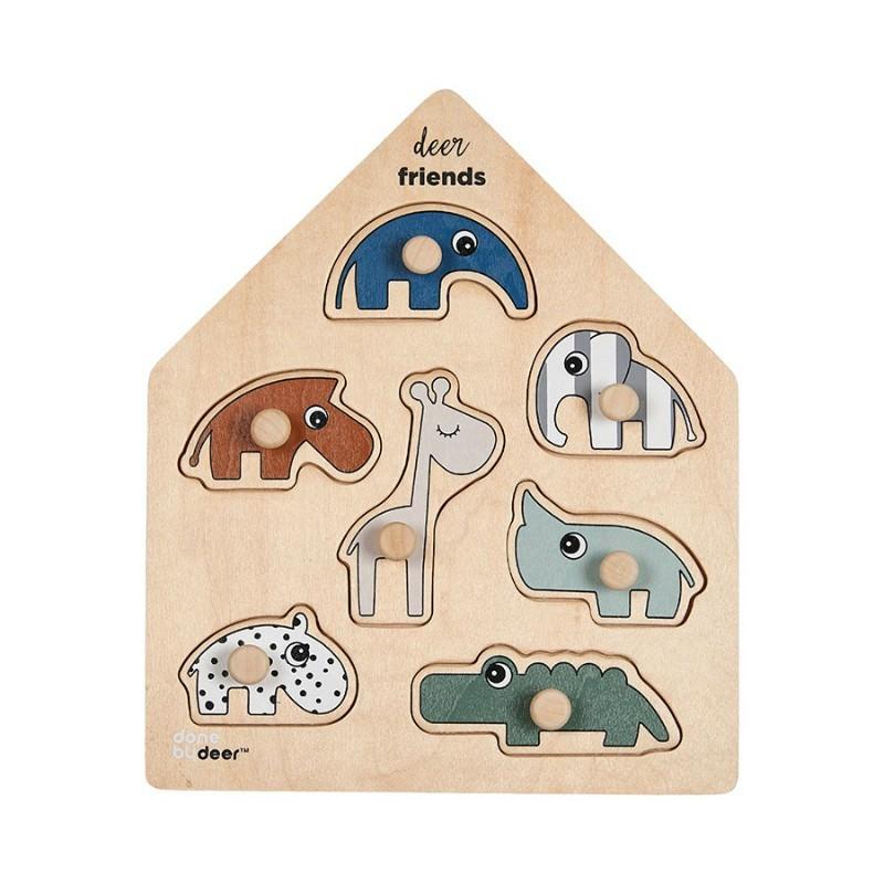 Puzzle bois de 7 pièces...