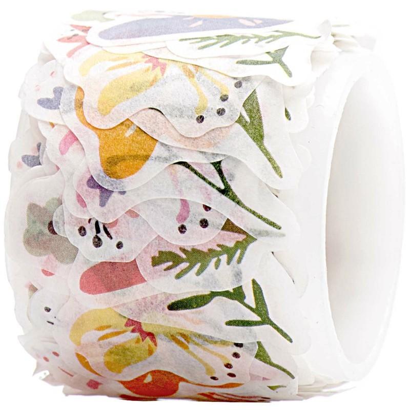 Washi paper Fleurs