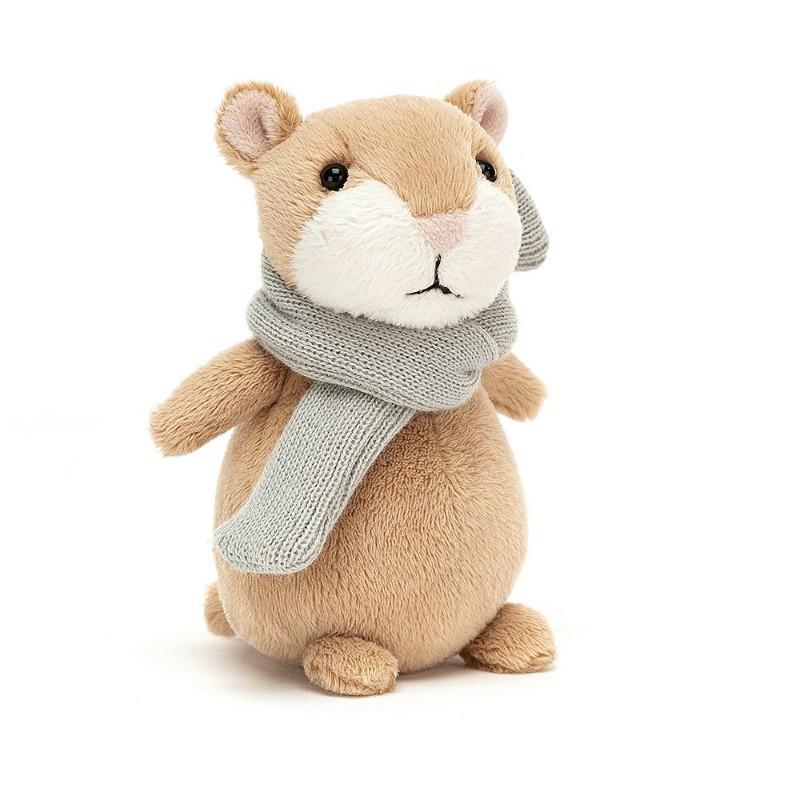 Peluche mini Hamster beige