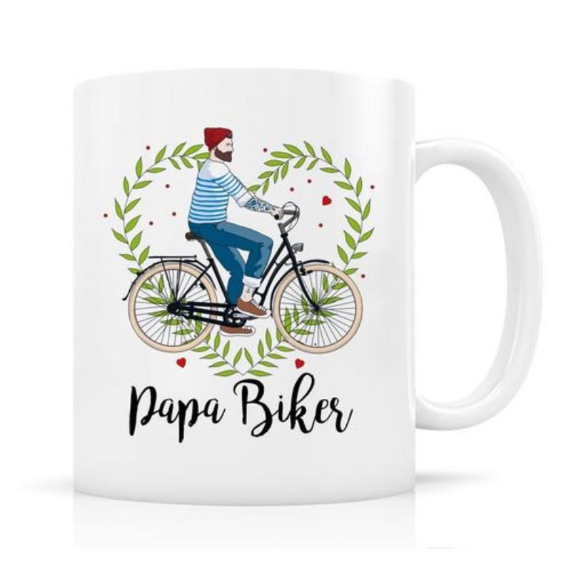 Mug Papa biker