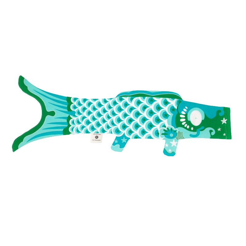 Koinobori Turquoise