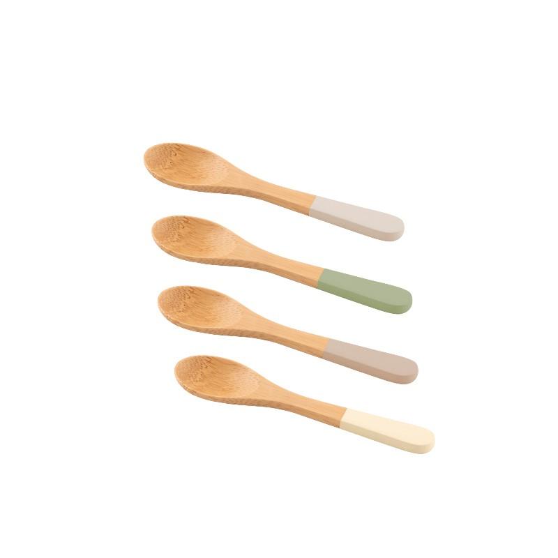 Set de 4 cuillères en bambou