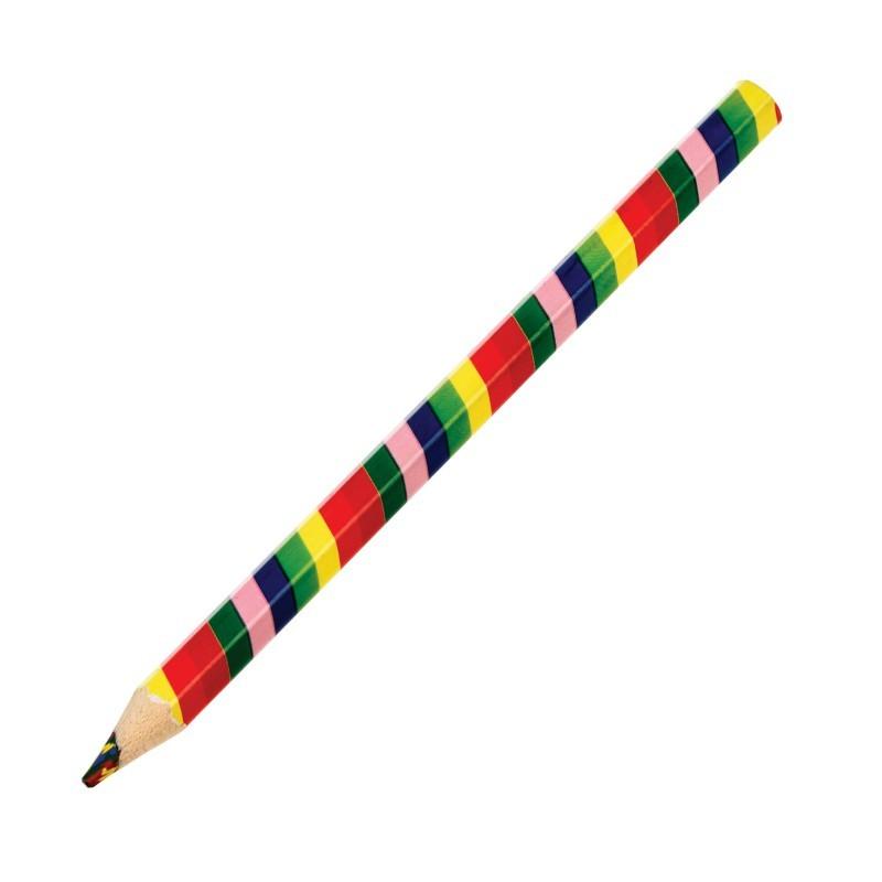 Crayon multicolore Arc-en-ciel