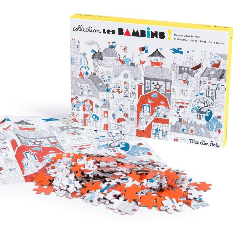 Puzzle dans la ville - 208...