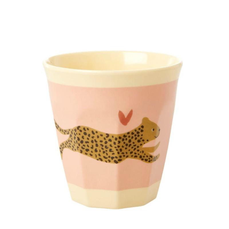Gobelet mélaminé Léopard mini