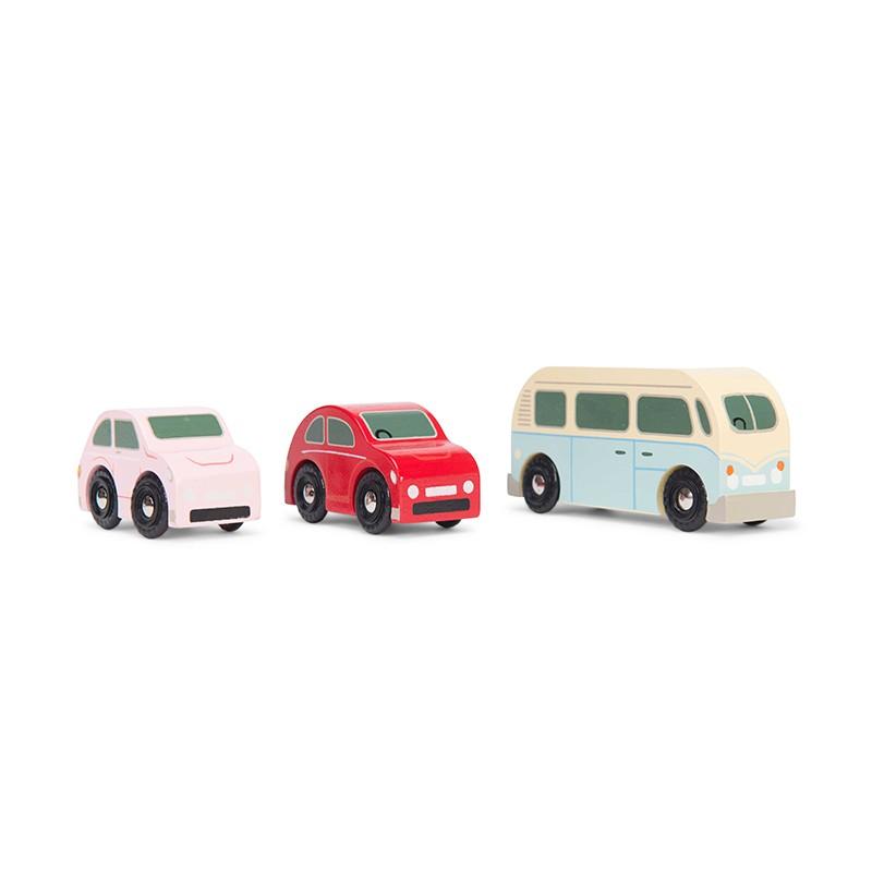 Set de 3 voitures rétro