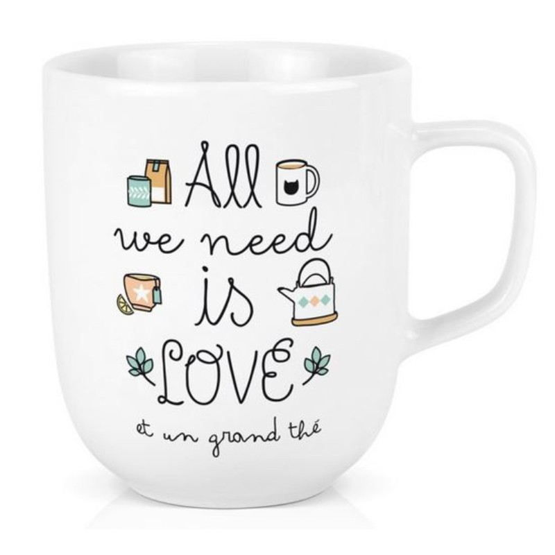 Grand Mug All we need is...