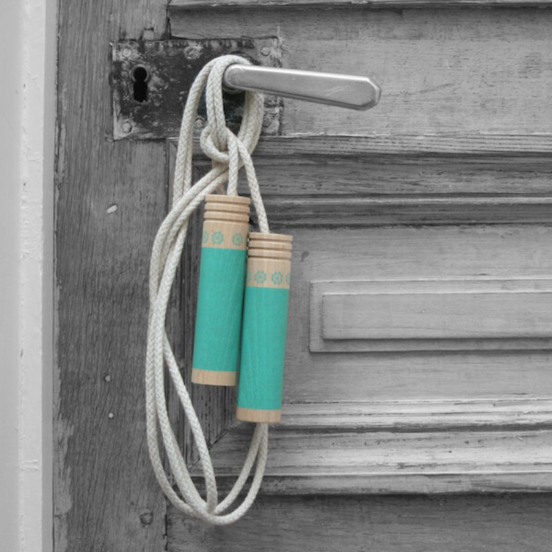 Corde à Sauter Bleu avec sac