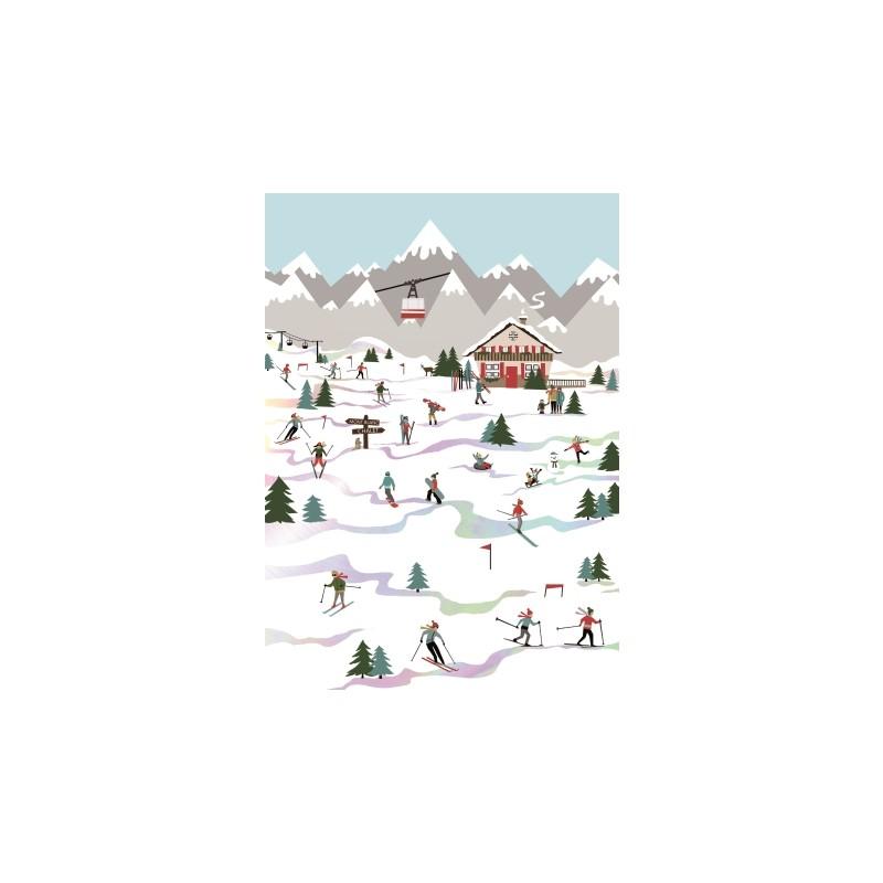 Carnet souple A5 Montagne