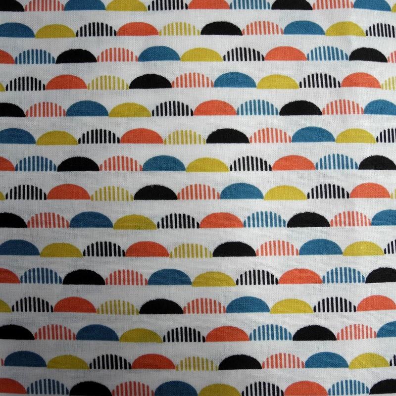 Tissu Montagnes multicolores