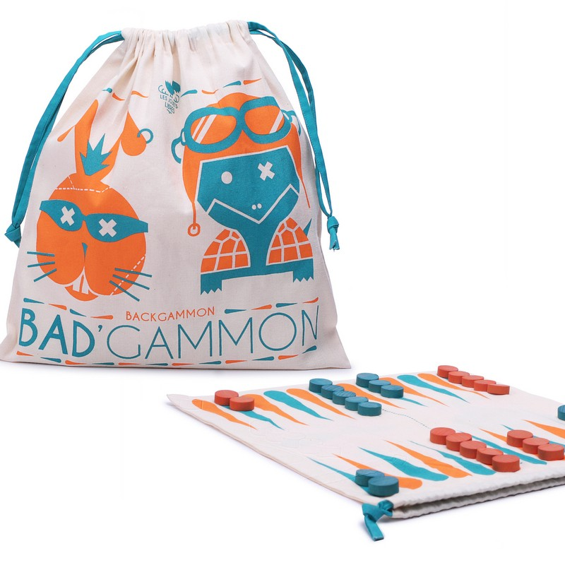 Bad'Gammon Jeu de Backgammon