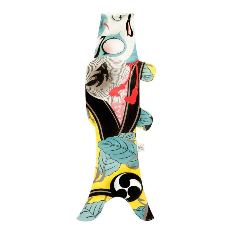 Koinobori Kabuki soldat