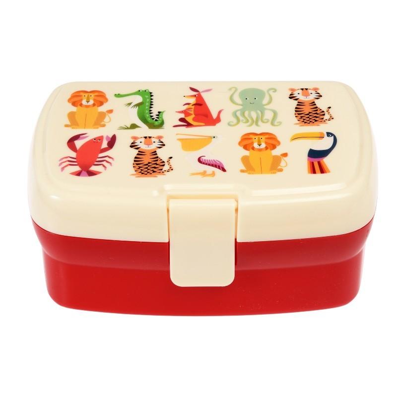 Boîte à repas Animaux colorés