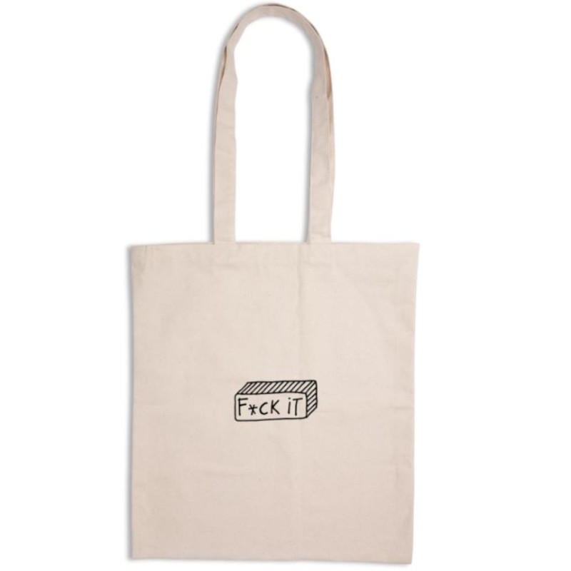 Tote bag en tissu F*ck it...