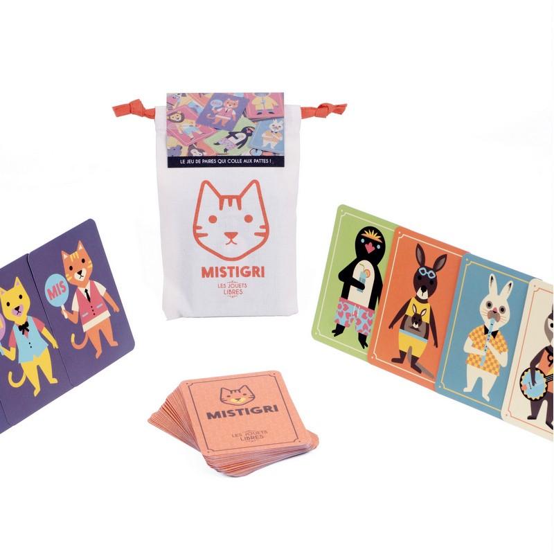 Jeu de cartes Mistigri animaux