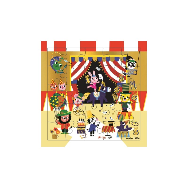 Carte puzzle Cirque des...