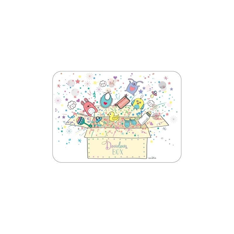 Carte simple Doudous box
