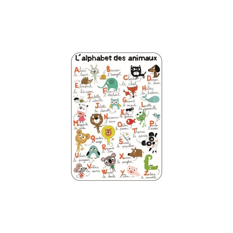 Carte simple Alphabet des...
