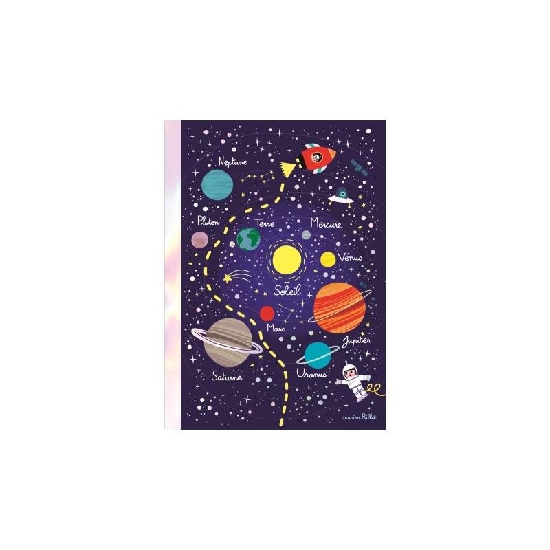 Carnet souple A5 Cosmos