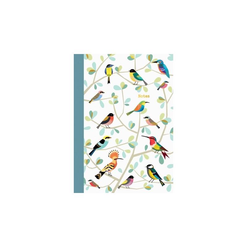Carnet souple A5 Oiseaux